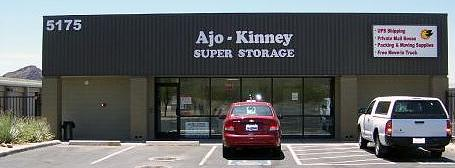 Ajo-Kinney Super Storage Store Front